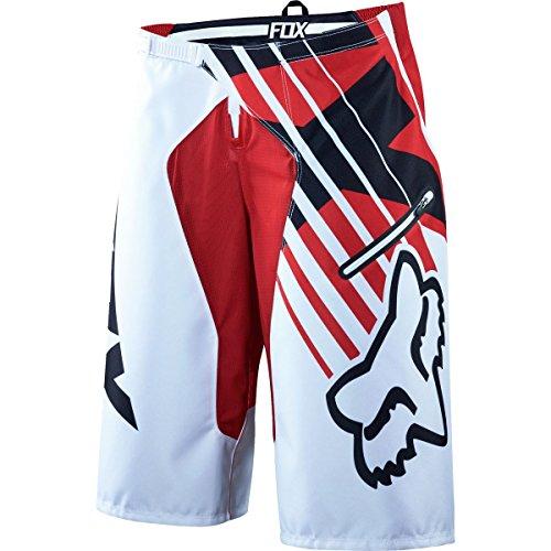 Fox Racing Demo DH Shorts - Men's Savant Red, 36 by Fox Racing
