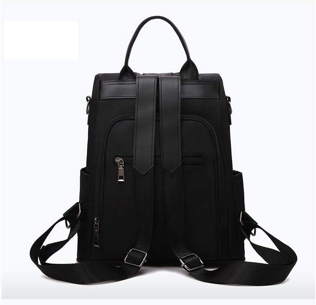 School Color : Black, Size : 28cm30cm12cm Haoyushangmao The Girls Versatile Backpack is Perfect for Everyday Travel Black//Gray//red. Fashion and Leisure Outdoor Travel Work