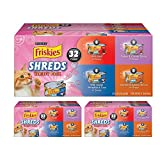 Purina Friskies Savory Shreds Adult Wet Cat Food Variety Pack (Variety Pack 3)