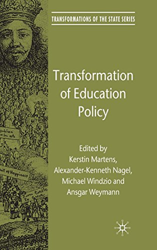 Transformation of Education Policy (Transformations of the State)