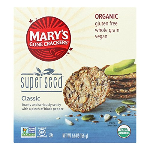Price comparison product image Mary's Gone Crackers Cracker Super Seed