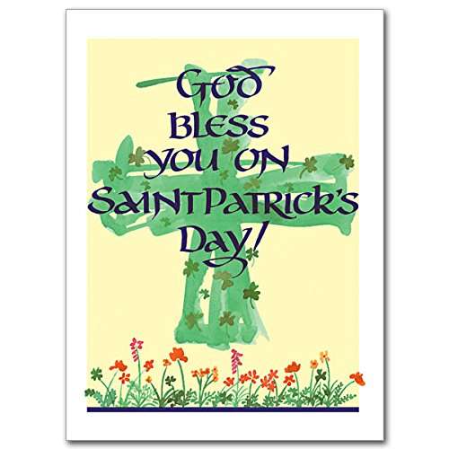 Amazon.com: God Bless You en Saint Patrick S Day relgious ...