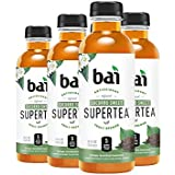 Bai Iced Tea, Socorro Sweet, Antioxidant Infused Supertea, Crafted with Real Tea (Black Tea, White Tea), 18 Fluid Ounce Bottles, 6 count