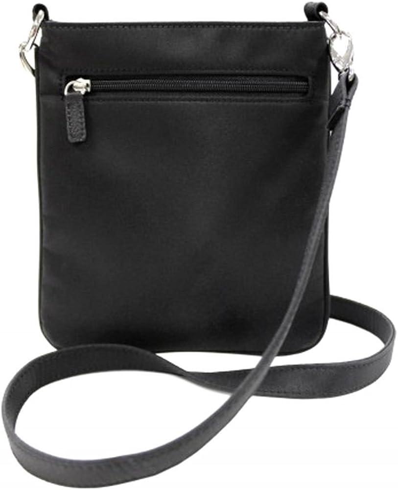 Personalized 2 Sizes Grosgrain Stripe Cross Body Bag
