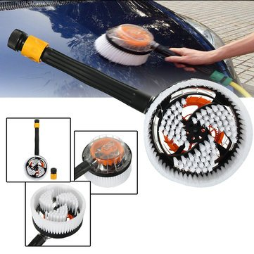- Automobile Rinse Brushwood - Car Truck Auto Vehicle Wash Brush Switch Foam Rotation Cleaning Tool Cleaner - Elevator Kiss Drawing Cable Lave Encounter Moisten Sweep Slipstream - 1PCs