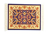 Rug Table Coasters, Persian Design Fabric Carpet Drink Mats Mouse Pad