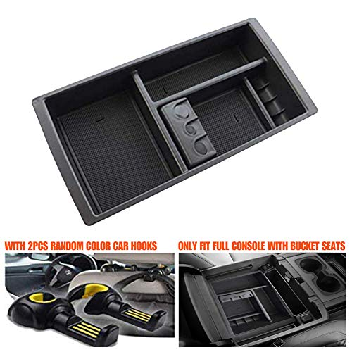 Center Console Organizer Tray for 2015-2018 Silverado Tahoe Suburban GMC Sierra Yukon/XL,GM Vehicles Accessories-Replaces 22817343 ()