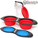 Scouty's Travel Dog Bowl Collapsible Set 24oz