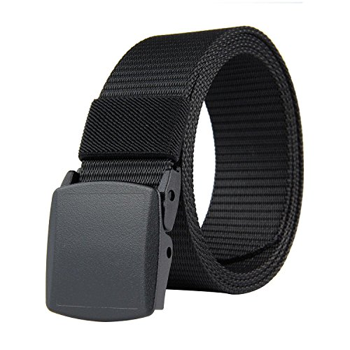 Tactical Belt, niceeshop(TM) Adjustable Belt Men Waist Belt Canvas Duty Belt with Plastic Buckle
