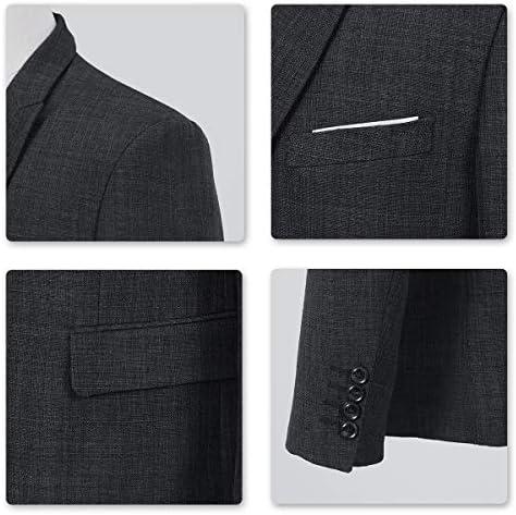 Amazon.com: Conjunto de 3 piezas de ropa para hombre Blazer ...