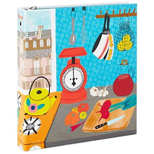 Hallmark Paris Kitchen Recipe Organizer Book