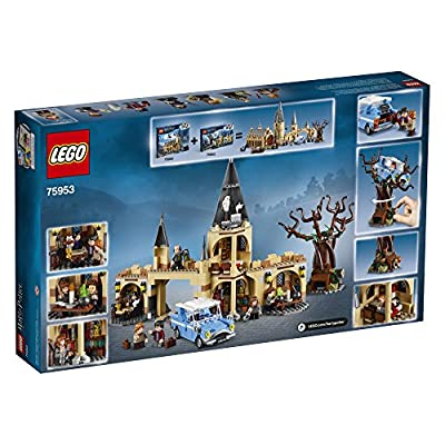 LEGO Harry Potter and The Chamber of Secrets Hogwarts Whomping Willow 75953 Magic Toys Building Kit, Prisoner of Azkaban, Hedwig, Hermoine Granger and Severus Snape (753 Pieces): Toys & Games