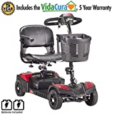 Drive Medical SFSCOUT4 Scout 4 Travel Power Scooter with 5 Year Warranty