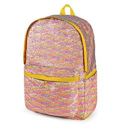 Sequin School Backpack for Girls