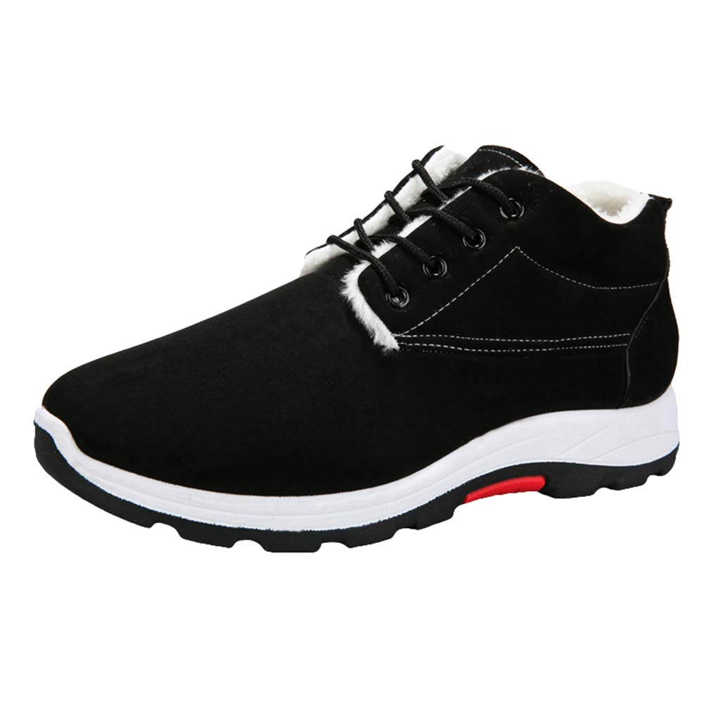 a60bff46 Winter Snow Boots for Men Comfortable Non-Slip Casual Walking Hiking ...