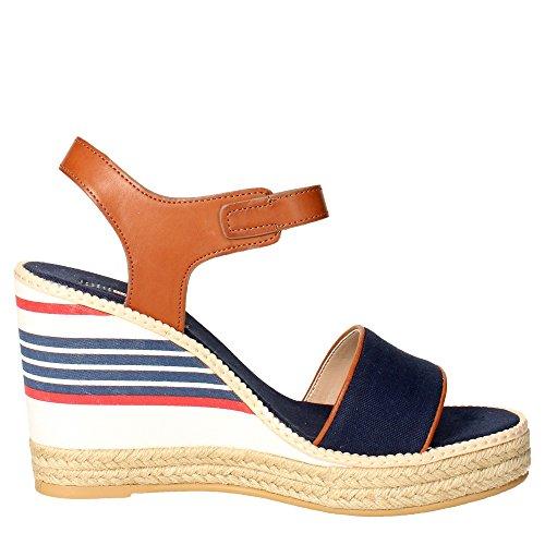 Sandalias con cuña Us Polo Assn Nymphea azul marino Black