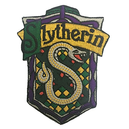 Ravenclaw Costume Uk (Harry Potter House SLYTHERIN Crest Robe Applique Embroidered Sew Iron On Patches)