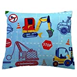 SheetWorld Crib Toddler Pillow Case, 100% Cotton