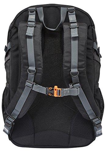 CAMPZ Mountain Comp 30L Rucksack schwarz 2017 outdoor-rucksack