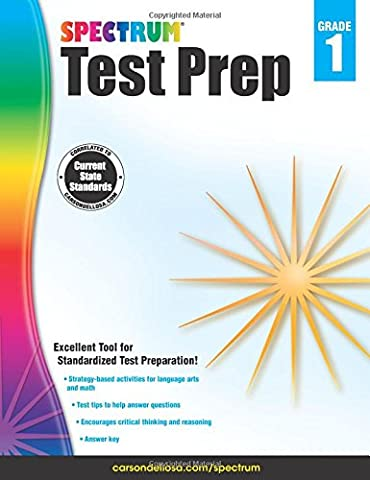 Spectrum Test Prep, Grade 1 (Spectrum Grade 5 Test Prep)