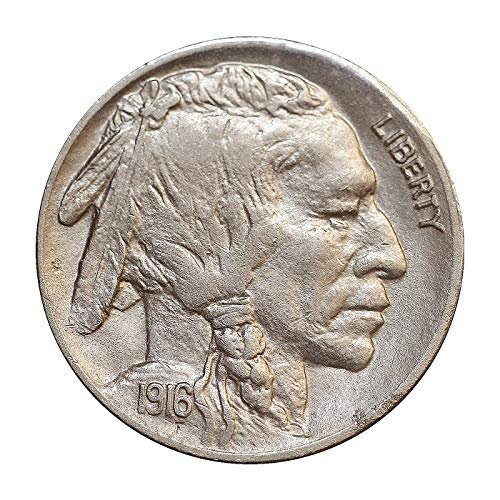 1916 D Buffalo Nickel - Gem BU/MS/UNC