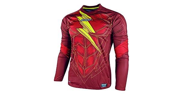 Amazon.com: Rinat Bolt Nueva Portero Jersey, Rojo: Clothing