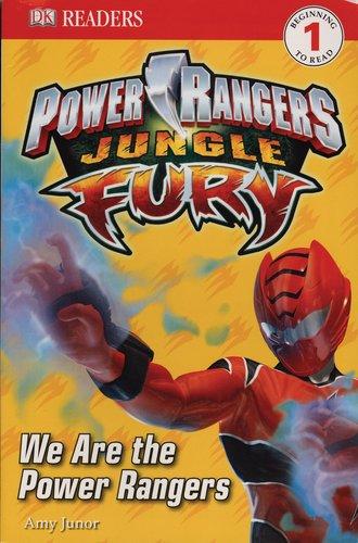DK Readers L1: Power Rangers: Jungle Fury: We
