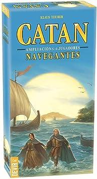 Catán: Navegantes Exp. 5 Y 6 Jugadores: Amazon.es: Juguetes y juegos