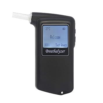 AT-868F respiración portátil Alcohol electroquímica Tester/Detector: Amazon.es: Electrónica