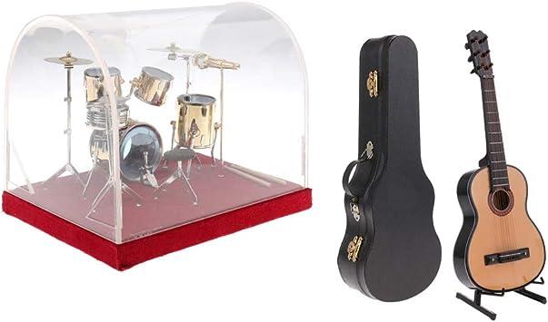 Amazon.es: SM SunniMix Modelo De Instrumento Musical En Miniatura ...