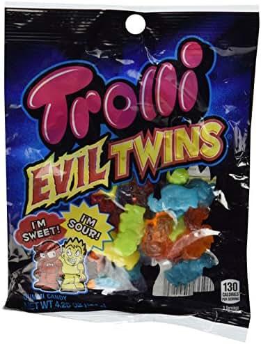Gummy Candies: Trolli Evil Twins