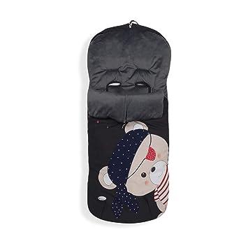 Interbaby Interbaby 10031 Universal Fußsack Für Kinderwagen Pirat Baby