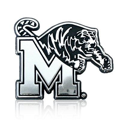 University of Memphis Tigers Chrome Metal Car