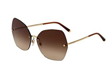 Gafas de Sol Dolce & Gabbana LUCIA DG 2204 GOLD/BROWN SHADED ...