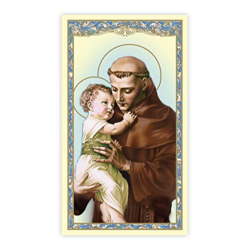 - St. Anthony Holy Card (Unfailing Prayer) - 100/pk