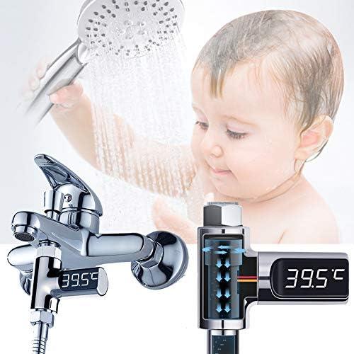 赤ちゃん、子供、大人向けのシャワー温度LEDデジタルディスプレイ