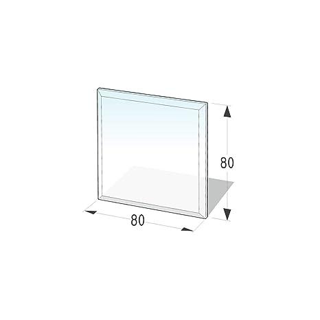 Kamin Glasplatte