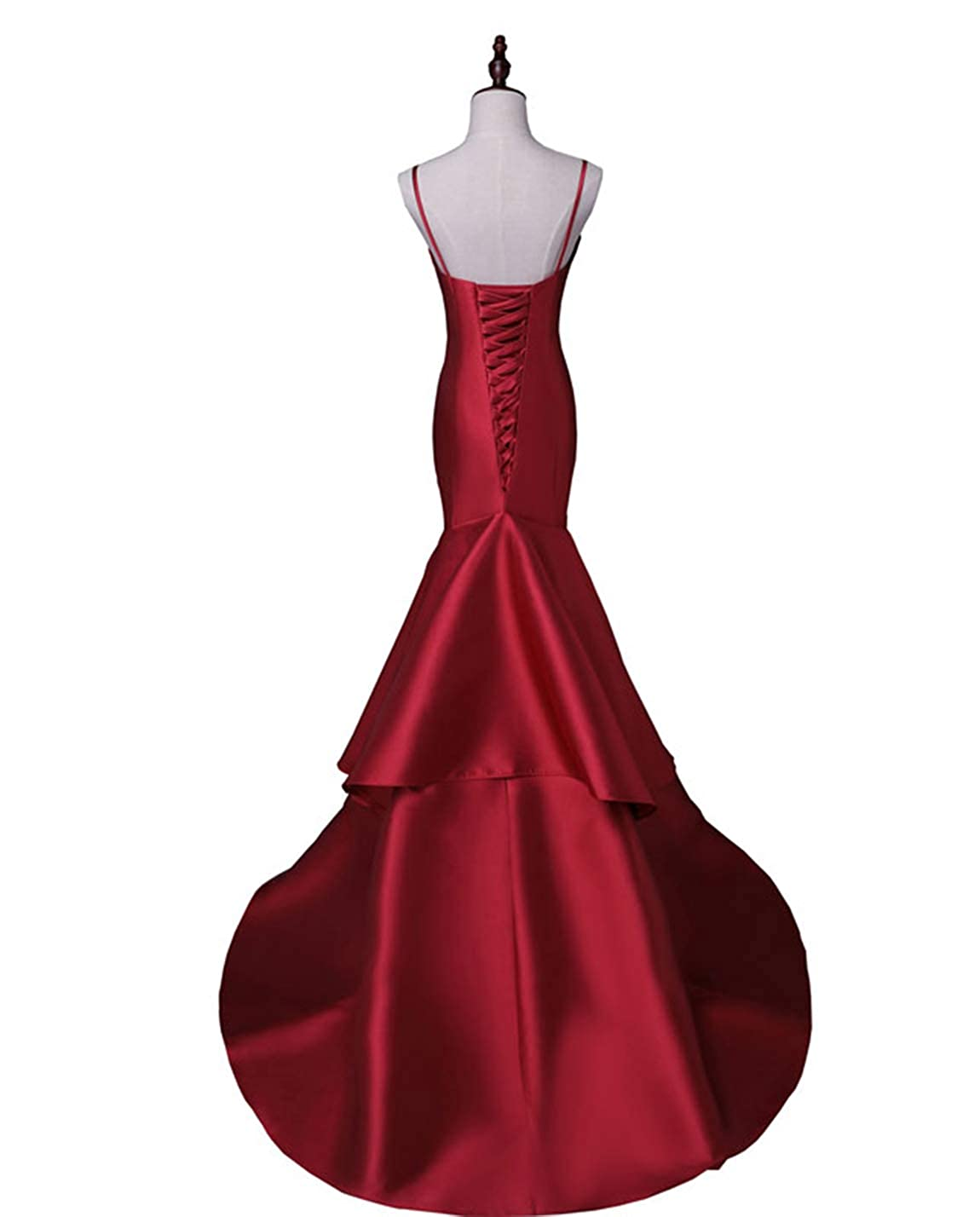 Scarisee Womens Sweetheart Mermaid Prom Evening Party Dresses Tiered FormalSA51 SA051