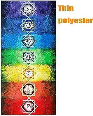 Amazon.com: Neasyth Chakra Tapestry - Alfombra de meditación ...