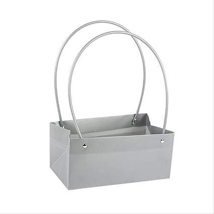 FHFF - Bolsa de papel kraft para ramo de flores, cajas de regalo ...