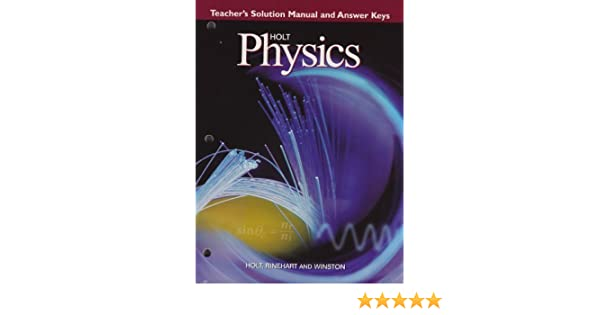 Physics teacher solution manuals ebook video dailymotion array holt physics teacher u0027s solution manual and answer keys serway rh amazon com fandeluxe Choice Image