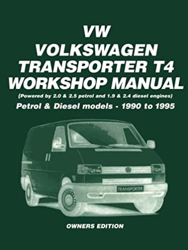 vw transporter t4 petrol and diesel 1990 1995 workshop manual rh amazon co uk vw transporter t4 service manual pdf vw transporter service manual