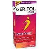 Geritol Liquid Energy Support B-Vitamins 12 oz For Sale