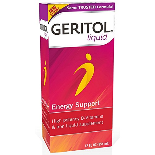 Geritol Liquid Energy Support B-Vitamins 12 oz