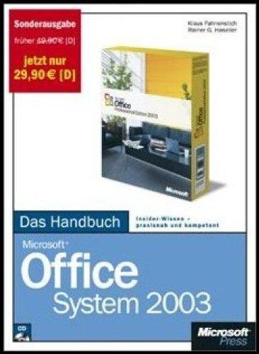 Microsoft Office System 2003 - Das Handbuch