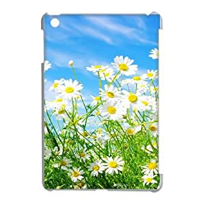 iPad Mini Phone Case White Daisy Flower UYUI6759023