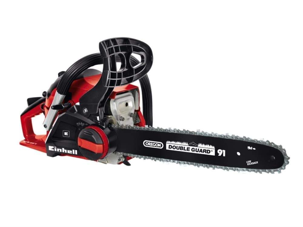 Einhell GC-PC 1335 TC 41 cc Tooless Petrol Chain Saw with 35 cm Oregon Bar, Red