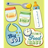 K&Company Baby Boy Food Sticker Medley
