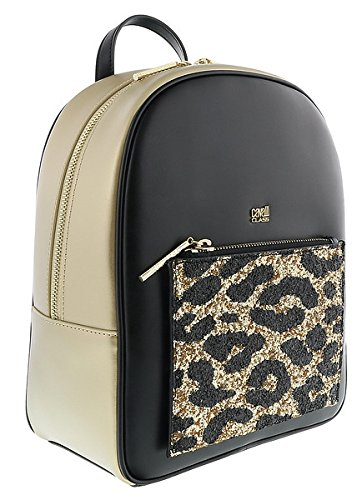 Amazon.com  Roberto Cavalli GQLPAO H00 Light Gold Black Milano Rmx ... 10f8473043351