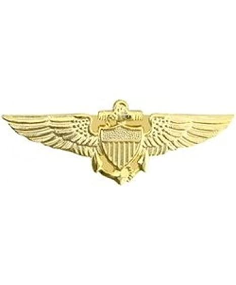 Attractive Navy Pilot Wings Small Pin